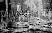 Angkor Wat with Apsaras and Devata