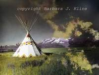 Tee Pee and Sawtooth Mountains