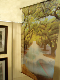 Oak Alley Silk Tapestry