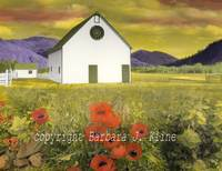 Reinheimer's Barn with Poppies