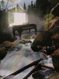 Piano/Waterfall